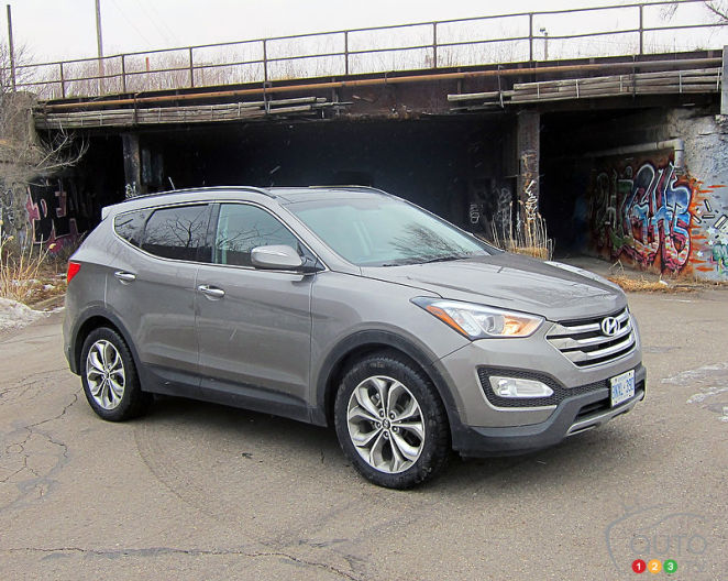 2014 hyundai santa fe sport 2 0t awd ltd review editor 39 s review car news auto123. Black Bedroom Furniture Sets. Home Design Ideas