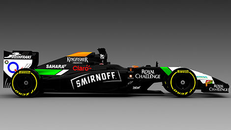 F1 VJM07 Smirnoff Sahara Force India