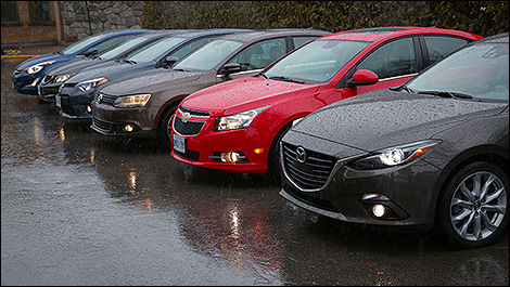 2014 Compact Car Comparison Test