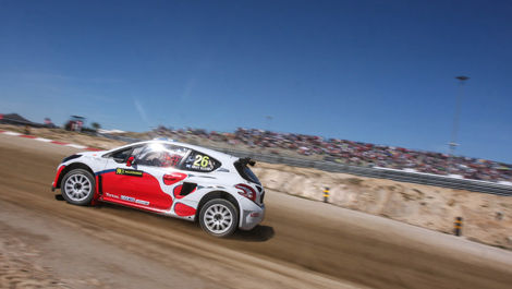 Andy Scott, Albatec Racing Peugeot 208, World RX