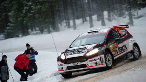 Jari Ketomaa Kaj Lindstrom Drive DMack World Rally Team Ford Fiesta R5