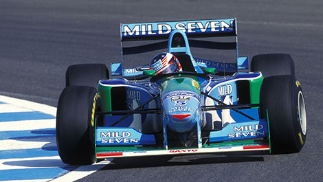 Michael Schumacher, Benetton-Ford, 1994