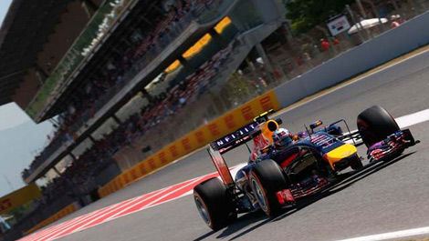 Daniel Ricciardo, Red Bull RB10 Spanish Grand Prix F1