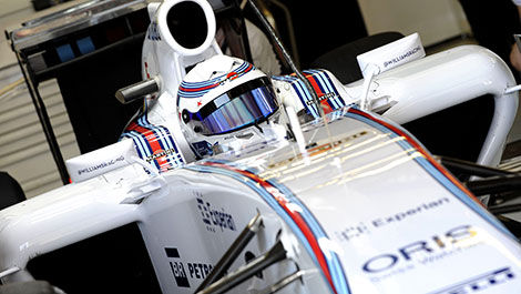 F1 test Barcelona Susie Wolff, Williams