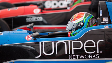 Juniper Networks will sponsor the F1600 Duals.