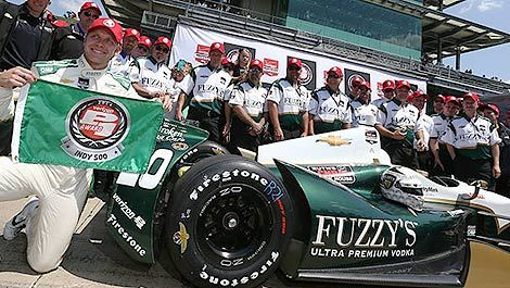 IndyCar Ed Carpenter pole position Indy500