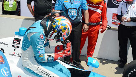 IndyCar James Hinchcliffe Indy 500