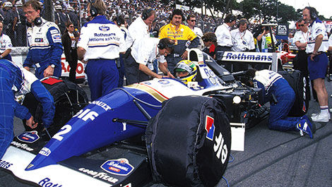 F1 Williams Ayrton Senna