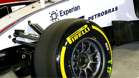 F1 Williams Pirelli