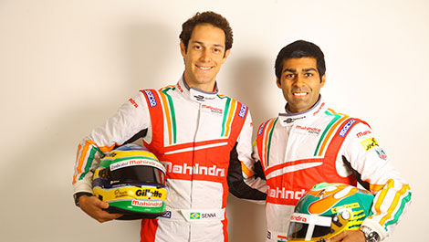 Bruno Senna and Karun Chandhok