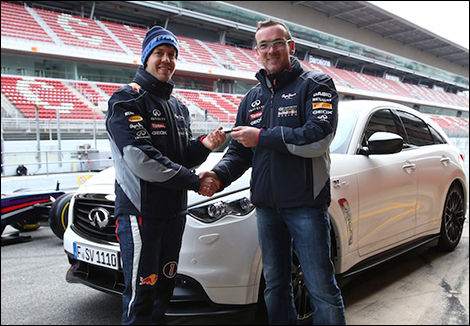 Infiniti: des voitures Red Bull Racing?