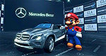 Mercedes-Benz GLA Kart... only in Mario Kart 8!