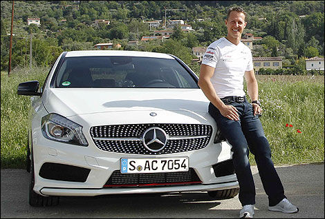 Michael Schumacher Mercedes-Benz