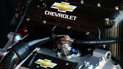 IndyCar Chevrolet V8 engine