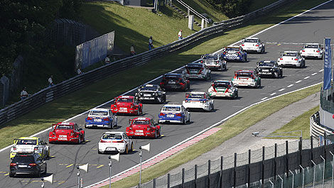 FIA WTCC starting grid 2014
