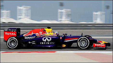 F1 Red Bull RB10 Renault