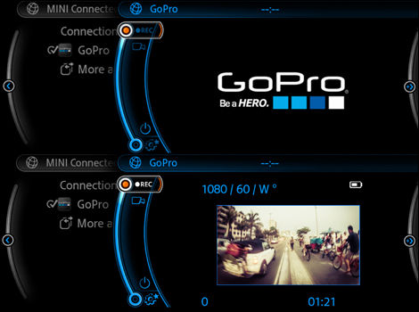 MINI launches special app for GoPro cameras