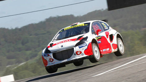 Jacques Villeneuve, Albatec Racing Peugeot 208 World RX