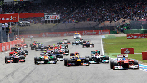 F1 Hockenheim 2012 Start