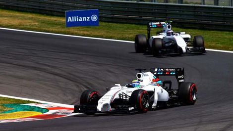 Williams FW36 Valtteri Bottas Felipe Massa Red Bull Ring F1
