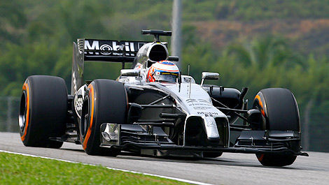 F1 McLaren MP4-29 Jenson Button