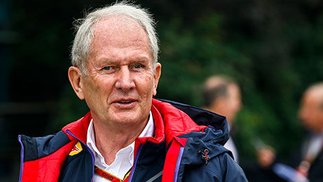 F1 Dr Helmut Marko Red Bull Racing