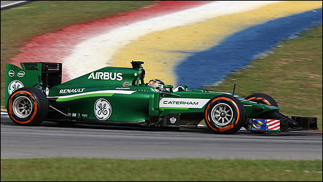 F1 Caterham CT05 Renault