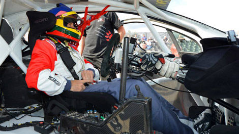 Jacques Villeneuve, Albatec Racing World RX