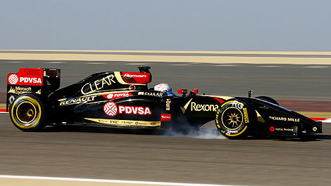F1 Lotus E22-Renault Romain Grosjean
