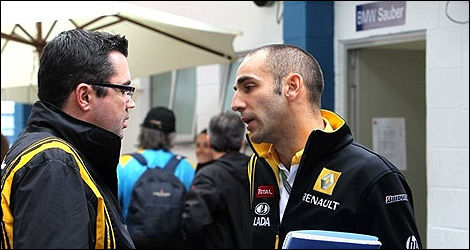 F1 Cyril Abiteboul Renault 2011