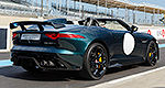 Jaguar F-Type Project 7 makes successful track debut at Le Mans