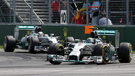 F1 Mercedes W05 Montreal