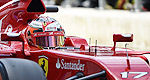 F1: Jules Bianchi says Ferrari seat ''not the plan for 2015''