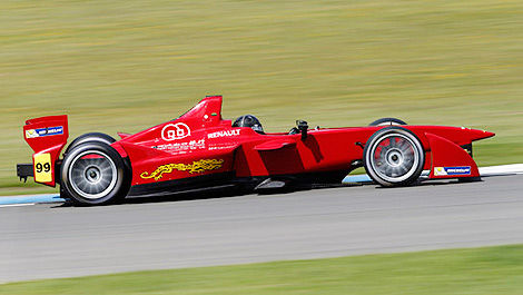 FIA Formula E Team China Donington