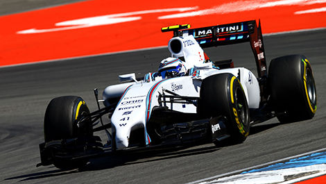 F1 Susie Wolff Williams FW36 Mercedes