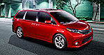 Toyota introduces 2015 Sienna online (videos)