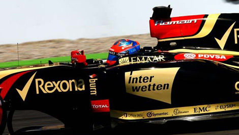Romain Grosjean, Lotus E22 F1