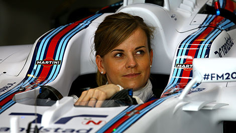 F1 Susie Wolff Williams Martini Racing