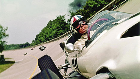 James Garner, « Grand Prix » movie, 1966