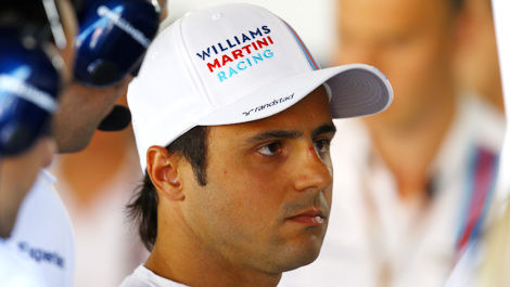 F1 Felipe Massa Williams Martini Racing