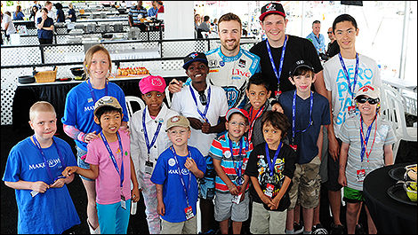 Honda Indy Toronto raises $62,000 for Make-A-Wish Canada