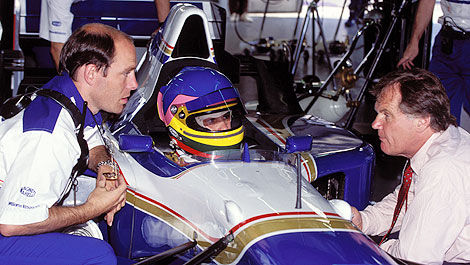 F1 Jock Clear Williams Jacques Villeneuve