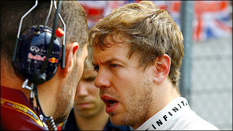 F1 Sebastian Vettel Red Bull Racing