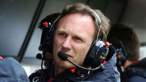 Christian Horner Red Bull Racing