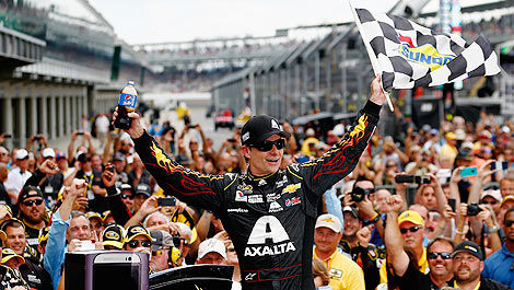 NASCAR Jeff Gordon winner Indianapolis