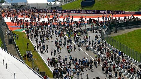 F1 Red Bull Ring crowd