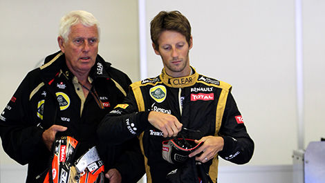 F1 Jean-Pierre Frizon Lotus Romain Grosjean