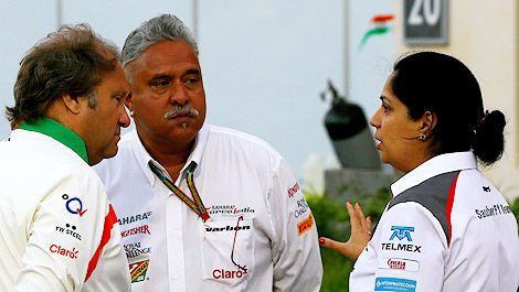 F1 Bob Fernley Vijay Mallya Sahara Force India Monisha Kaltenborn Sauber