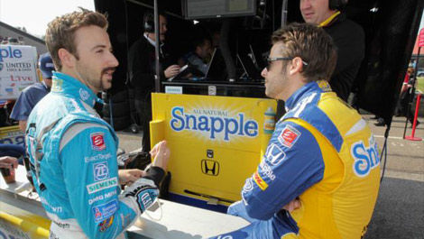 Marco Andretti James Hinchcliffe IndyCar