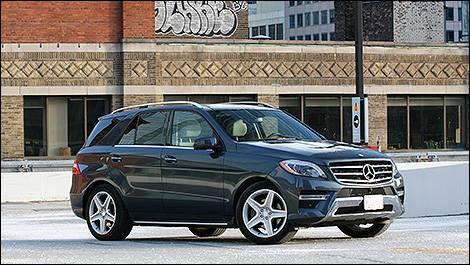 2014 Mercedes Benz ML350 Bluetec